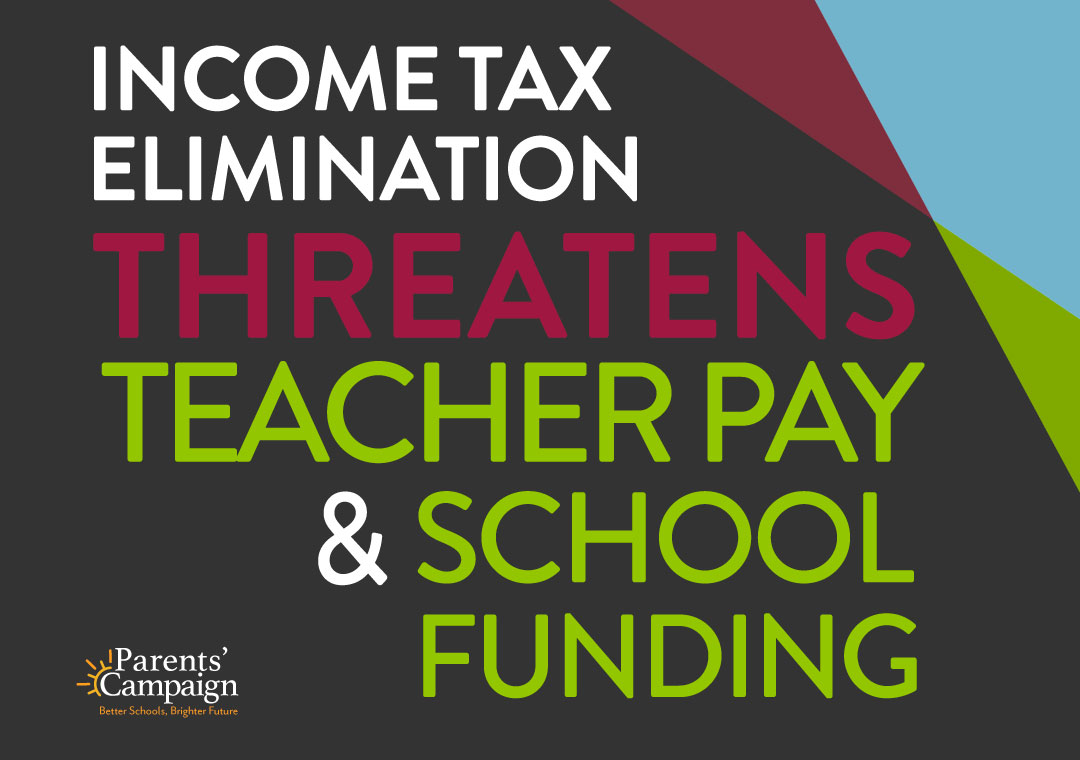 income tax elimination threatens teacher pay and school funding